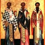 Николай Чудотворец, Иоанн Милостивый и Василий Исповедник