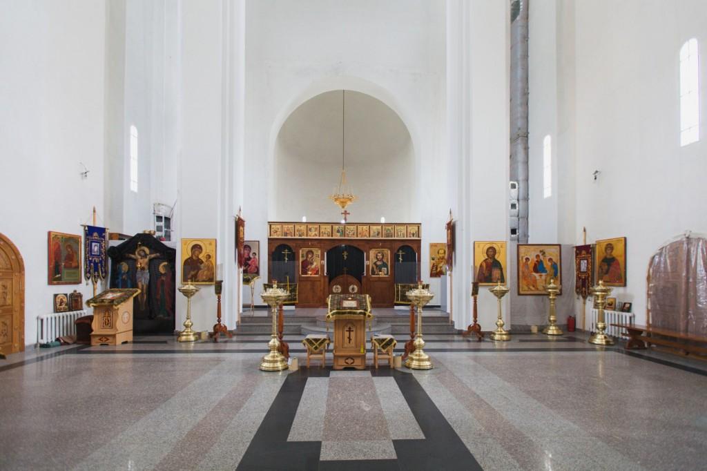 Вид верхнего придела Храма