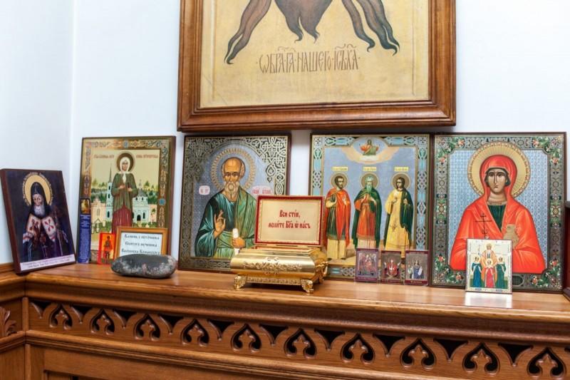 Иверский предел Свято-Никольского храма станицы Кавказской