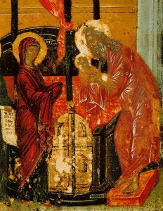 СЛОВО НА СРЕТЕНИЕ ГОСПОДНЕ Богомладенец Иисус в храме Иерусалимском