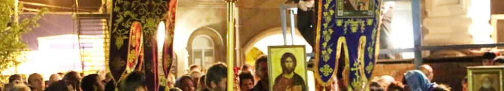 Пасхальное Богослужение Пасхальное Богослужение в Свято-Никольском храме станицы Кавказской
