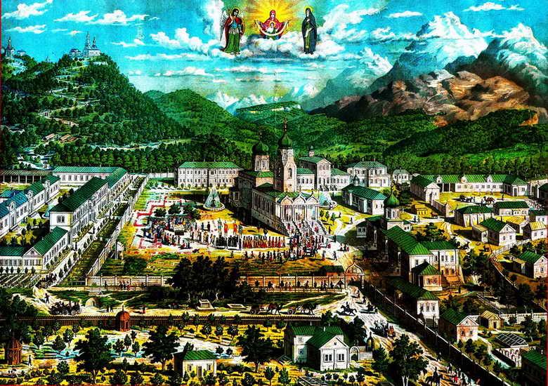 Поездка в Свято-Михайловский Афонский монастырь