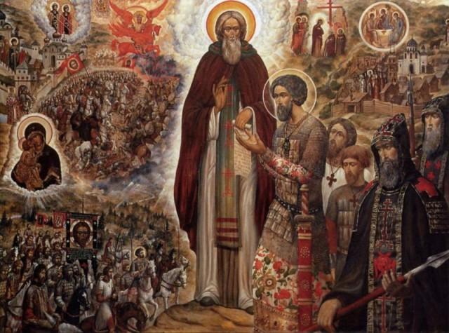 8 октября (25 сентября по старому стилю) Православная Церковь отмечает память Преставления преподобного Сергия, игумена Радонежского, всея России чудотворца Преставление преподобного Сергия