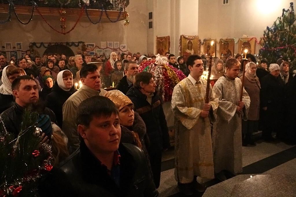 В ночь с 6 на 7 января, в праздник Рождества Господа Бога и Спаса нашего Иисуса Христа