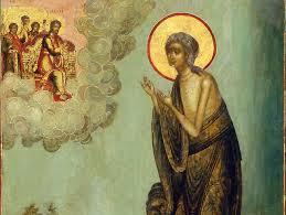 ЧЕТВЕРТОК ВЕЛИКОГО КАНОНА. СТОЯНИЕ МАРИИ ЕГИПЕТСКОЙ - 2 АПРЕЛЯ 2020 ГОДА Житие преподобной матери нашей Марии Египетской