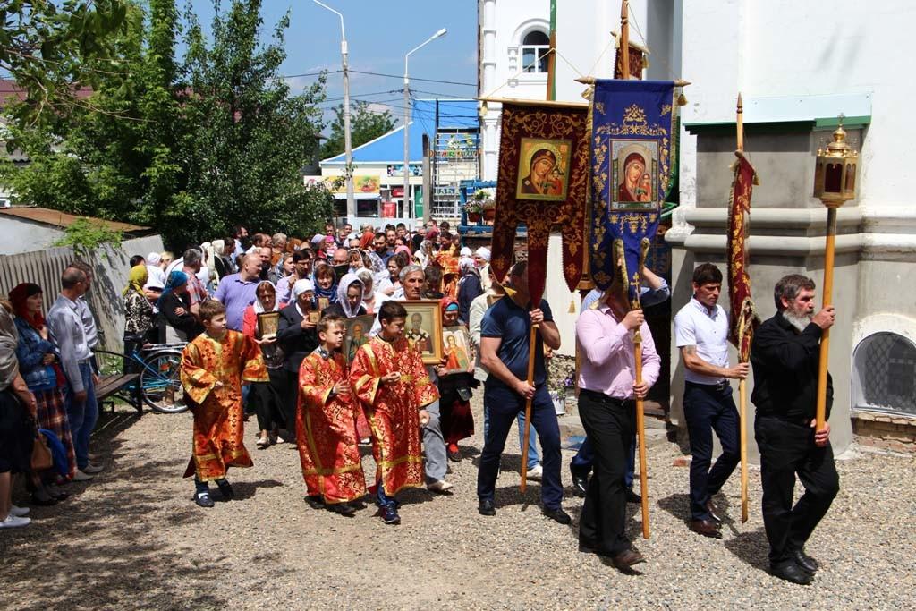 22 мая в 2016 года, в малый престольный праздник нашего храма