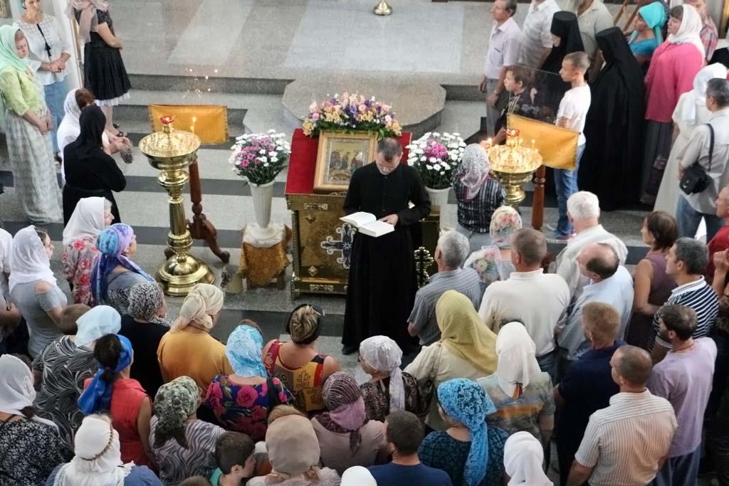30 июля 2017 года, в Неделю 8-ю по Пятидесятнице, памяти святых отцев шести Вселенских Соборов, великомученицы Марины