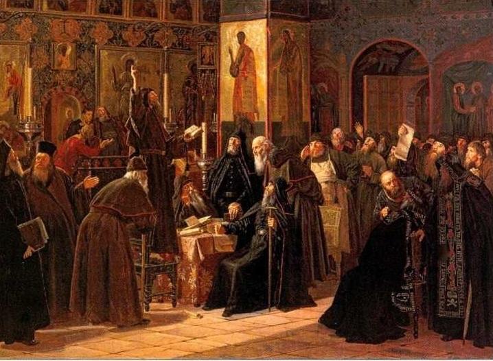 Самое начало восстания насельников Соловецкого монастыря