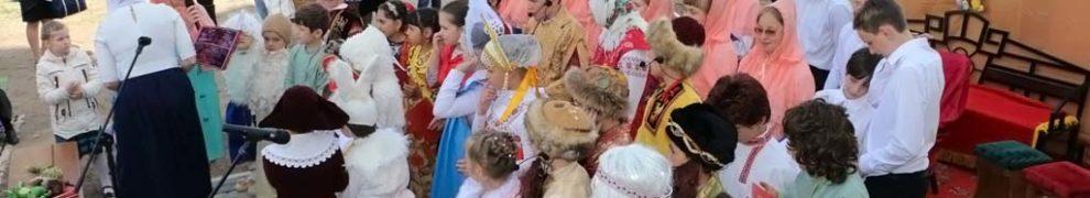 Видео – Пасхальное выступление воспитанников Воскресной школы Свято-Никольского храма станицы Кавказской