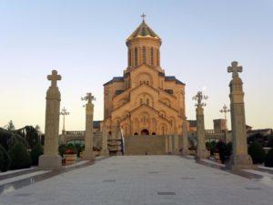 Поездка паломников в Грузию