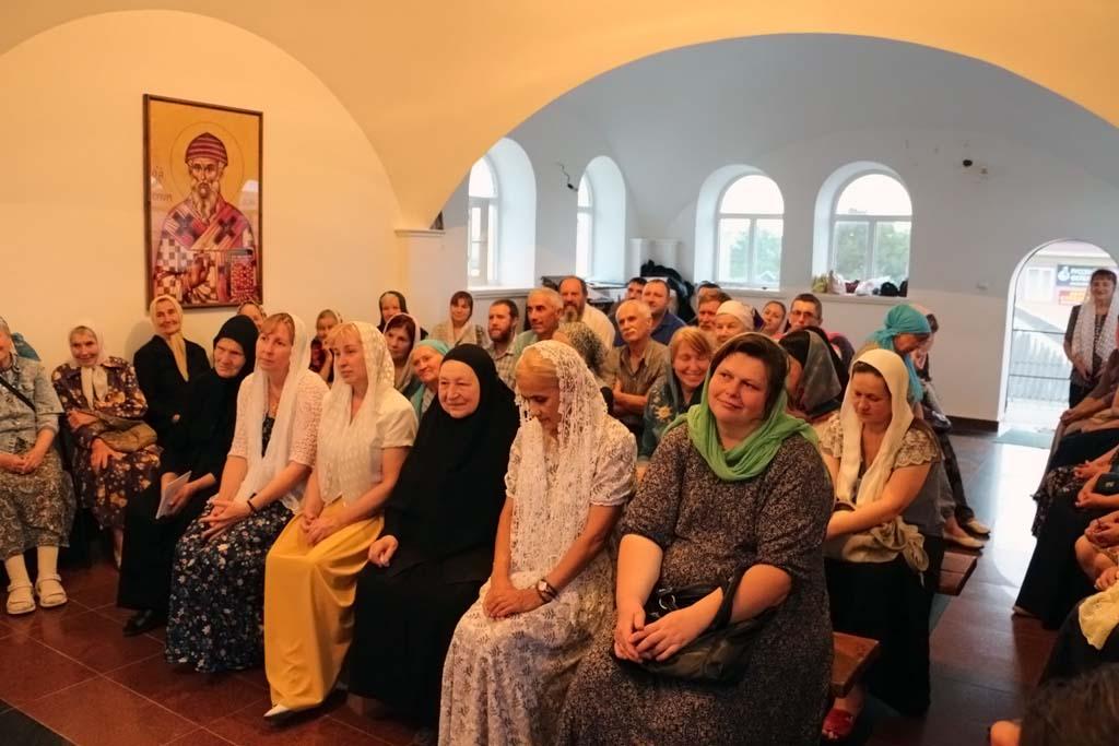 17 июня 2018 года в Надвратном храме Свято-Никольского храма состоялся вечер духовного общения