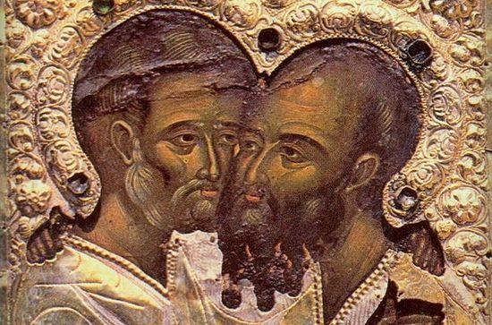 12 июля 2018 года - Память славных и всехвальных первоверховных апостолов Петра и Павла