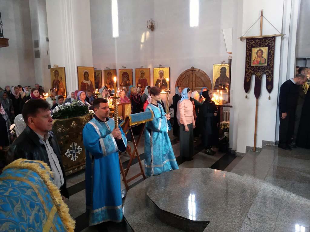 22 сентября 2019 года, в неделю 14-ю по Пятидесятнице, перед Воздвижением