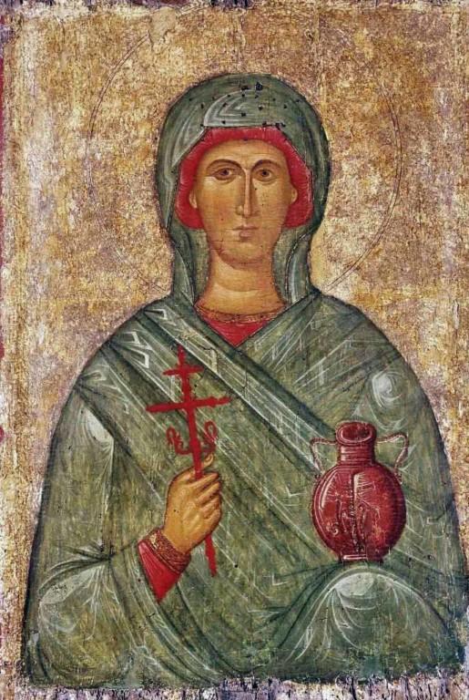 День памяти великомученицы Анастасии Узорешительницы – 4 января. Понедельник Святая великомученица Анастасия Узорешительница. 4 января 2020 года