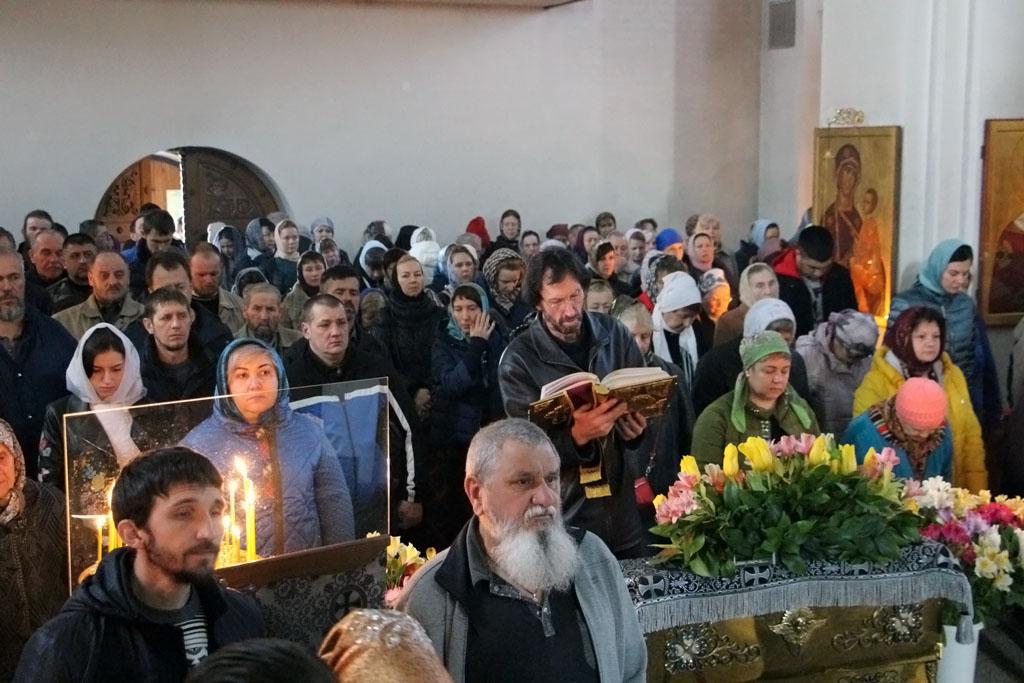 В неделю второй седмицы Великого поста, в день памяти святителя Григория Паламы, архиепископа Солунского