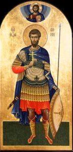 Памяти мученика Иоанна Воина – 12 августа (четверг)