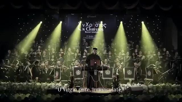 Видео – Агни Парфене. Хор EnChristos храма Богородицы, г. Сидней (Австралия)/ Выступление в королевстве Бахрейн