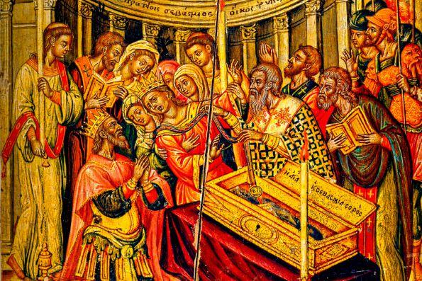 13 сентября. Положение честного пояса Пресвятой Богородицы